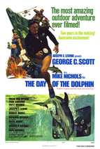 George C. Scott and Trish Van Devere in The Day of The Dolphin Great Art... - $69.99