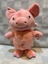 "Animated PIG Valentine Plush Sings The Cupid Shuffle 11"" Hallmark Toy 2013 - $14.84"