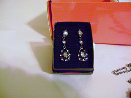 "Avon Midnight Luxe 1 7/8"" Drop Earrings (Posts) - New in Box! - $6.90"