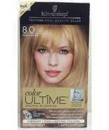 Schwarzkopf Color Ultime Iconic Blondes, 8.0 Medium Blonde, Pack of 1 Ap... - $29.85