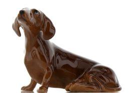 Hagen Renaker Pedigree Dog Dachshund Large Ceramic Figurine image 3