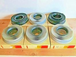 Kodak Slide Carousels - Kodak Transvue 140 Slide Trays - Lot of 6 in boxes (378) - $54.44