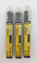 """(New) Irwin 3/4"""", 5/8"""", 17/32"""" Black Oxide High Speed Steel Drill Bit Set - $30.68"""