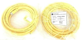 LOT OF 2 NEW TPC WIRE & CABLE 81036 FEMALE CABLE 6M 3-POLE DC