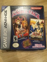 YuGiOh Double Pack Game Boy Advance Sacred Cards Reshef Of Destruction N... - $23.75