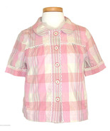 Juicy Couture Womens Jacket Plaid Cropped Shirt... - $238.00