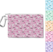 Sky Love Bunny Canvas Zip Pouch - $15.99+
