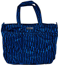 JuJuBe Super Be Large Everyday Lightweight Zippered Tote Bag, Onyx Colle... - $48.15