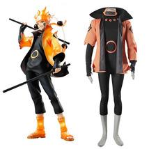 Uzumaki Naruto Rikudou Sennin Modo Cosplay Costume Anime Halloween Men Outfit - $78.00