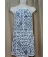 """Studio M Dress Sz M Off White Blue Combo Lace """"Geraldine"""" Casual Dress - €52,41 EUR"""