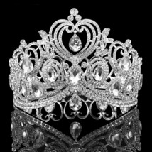 Heart shaped bridal Crowns At Bling Brides Bouquet - Online Bridal Store - $59.99