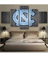 North Carolina Tar Heels Wall Art Oil Canvas Painting Print Home Decor - $30.00+