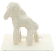 Hagen-Renaker Miniature Ceramic Lamb Figurine Wooly White image 3
