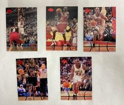 Lot of 5 Michael Jordan Upper Deck MJx Cards #85/87/91/92/130 1998 Lot #2 - $19.79