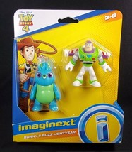 Imaginext Toy Story 4 2 figure pack Buzz Lightyear & Bunny NEW - $7.16