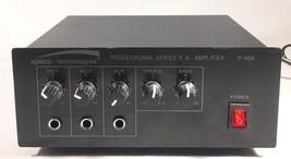 SPECO TECHNOLOGIES P.A. AMPLIFIER P-40A - $37.04