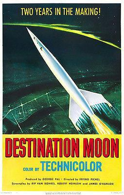 Primary image for Destination Moon #2 - 1950 - Movie Poster