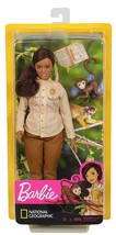 Barbie Wildlife Conservationist Doll, Brunette, Inspired by National Geographic - $20.78