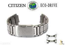 Citizen Eco-Drive AT4011-57L Silver-Tone Titanium Watch Band Strap - $242.95