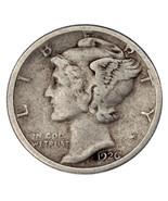 1926-S 10C Mercury Dime VF Condition, Natural Color, Nice Detail - €51,77 EUR