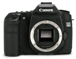 Canon EOS 50D 15.1MP Digital SLR Camera (Body Only) - $395.99
