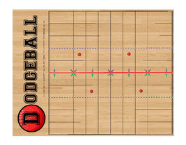 The DODGEBALL LEAGUE board game is our attempt to take the wild gym game... - $7.95