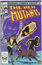 "New Mutants #1 March 1983 ""Initiation"" Professor X, X-Men Claremont McLeod HOT - $23.28"