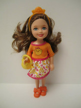 Easter Chelsea Doll Auburn Collector Barbie Sister DEBOXED 2014 Target E... - $10.50