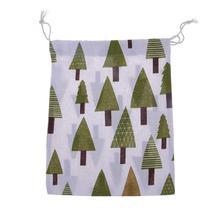 (04 size L)Travel Home Linen Cotton Storage Drawstring Bag Vintage Reusable Tote - $14.00