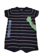 Carter's Boys 6-9 Months Short Sleeve Outfit. Button Up, Navy. NWT - $8.79
