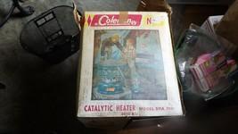 RR)   Vintage Coleman 5000BTU Model 511A Catalytic Heater Original Box 7/68 - $66.30