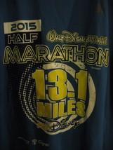 New WDW 2015 Half Marathon 13.1 Miles Shirt Men's M RunDisney Powertrain - $25.21
