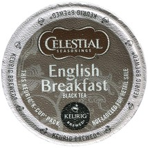 Celestial Seasonings English Breakfast Tea 72 count Keurig K cups FREE S... - $52.99