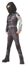 Captain America Deluxe Kids Winter Soldier Costume Male Meduim - $83.41