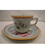 Adams China England Calyx ware white porcelain demitasse cup & saucer. - $15.00