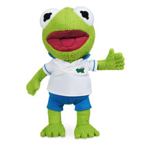 Disney Muppet Babies Kermit Frog Small Plush New with Tags - $20.48