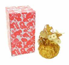 """7"""" Feng Shui Gold Money Coins Tree in Dragon Pot Wealth Blessing  image 4"""