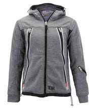 Boys Juniors Athletic Hoodie Sherpa Lined Kids Toddler Sweater Zipper Jacket image 8