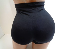 NWT Women's Skinny Girl 7380 Seamless Shaping Short BLACK Butt Lifting - $13.85