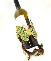 Ciel Collectables Butterfly & Flower Design Wine Bottle Holder - $219.99