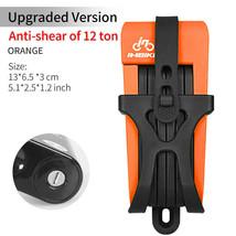 INBIKE bike lock resistant to 12 tons of hydraulic stainless & steel rus... - $40.14+