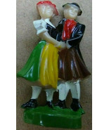 CUCKOO CLOCK FIGURINE COUPLE DANCERS REPLACEMENT Made in Germany - $15.00