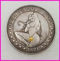 Sexy girl Hobo Nickel Coin 1881 commemorative free shipping #126 - $19.99