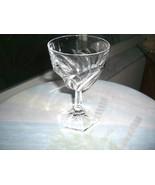 Set of 2 Mikasa Barcelona Pattern Crystal Champagne Glasses - $11.88