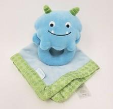 Carter's Bébé Bleu Monster 99584 Sécurité Couverture Hochet Animal en Peluche - $41.93