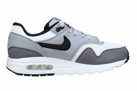 Nike Air Max 1 (GS) White Black Wolf Grey Gunsmoke Kids Running Shoes 807602 108 image 1