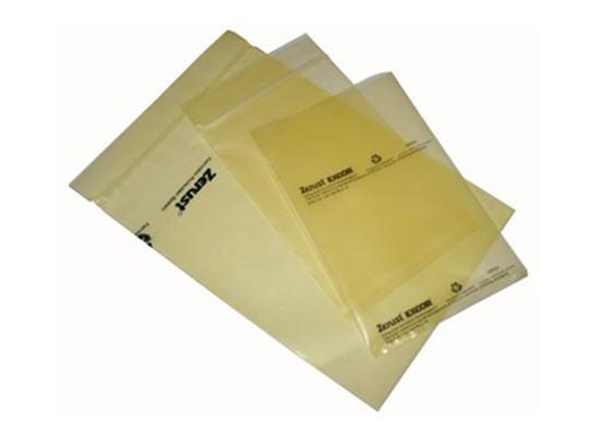 "Zerust Multipurpose VCI Poly Bag - Zip Closure - 3"" x 5"" - Pack of 12 - $11.83"