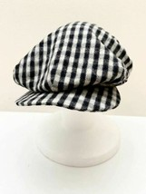 MISTER FREEDOM Tweed Lattice pattern Hunting cap Black X Off white from ... - $282.99