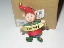 Christmas Ornaments WHOLESALE- Russ BERRIE- #13831 -'COURTNEY'- (6) - New -W8 - $5.83