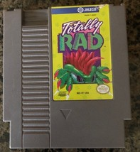 Nintendo Totally RAD NES Video Game, Cartridge Only, Tested 1985 - $18.04
